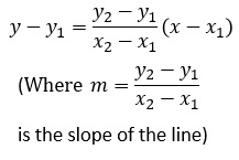 Calculation of line BC in exercise 1