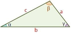 Scalene triangle drawing